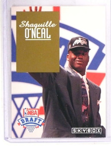 1992-93 Skybox NBA Draft Shaquille O'neal rc rookie #DP1 *69828