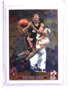 2003-04 Topps Chrome Dwyane Wade rc rookie #115 *69921