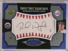2005 Sweet Spot Signatures David Wright autograph auto #D271/350 #SS-DW *69882