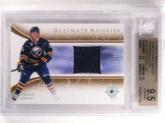 2015-16 Ultimate Collection Silver Jack Eichel rookie jersey /99 BGS 9.5 *69941