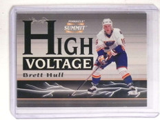 1996-97 Pinnacle Summit High Voltage Mirage Brett Hull #D385/600 #16of16 *69908