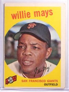 1959 Topps Willie Mays #50 VG *70036