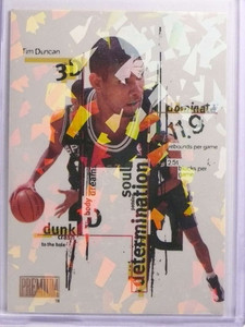 1998-99 Skybox Premium 3D's Tim Duncan #8of15 *70050