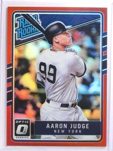 2017 Donruss Optic Red Prizm Aaron Judge rc rookie #D20/99 #38 *70081