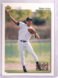 1992 Upper Deck Minors Derek Jeter rc rookie #5 *55664
