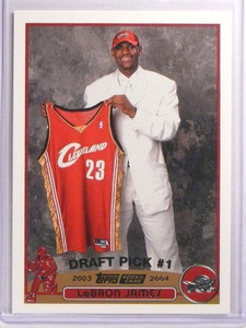 2003-04 Topps Lebron James rc rookie #221 *70083