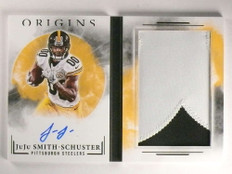2017 Panini Origins Juju Smith-Schuster autograph auto patch book rc /25 *70110