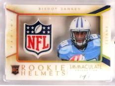 2014 Panini Immaculate Rookie Helmets NFL Logo Bishop Sankey rc #D 1/1 *70113