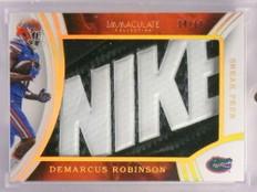 2016 Panini Immaculate Sneak Peek Demarcus Robinson Nike logo #D14/14 *70115