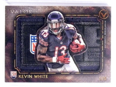 2015 Topps Valor Kevin White Laundry Tag  patch rookie rc #D 1/1 *70132
