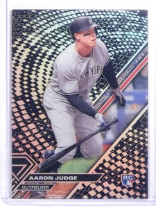 2017 Topps High Tek Blackout Aaron Judge rc rookie #HT-AJ *70176