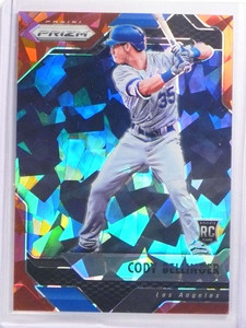 2017 Panini Prizm Red Crystals Cody Bellinger rc rookie #D58/75 #2 *70193