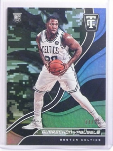 2017-18 Panini Totally Certified Camo Guerschon Yabusele rc rookie #D/25 *70198