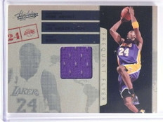 2009-10 Absolute Frequent Flyer Kobe Bryant jersey #D81/100 #5 *70199