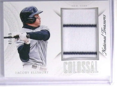 2015 Panini National Treasures Colossal Jacoby Ellsbury Jersey #D47/99 #23 *70528