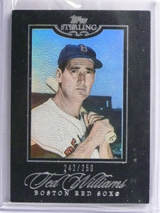 2006 Topps Sterling Ted Williams #D242/250 #57 *70391