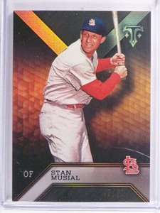 2016 Topps Triple Threads Onyx Stan Musial #D45/50 #80 *70746