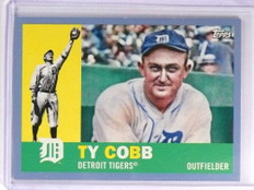 2017 Topps Archives Blue Ty Cobb #D70/75 #75 *70797
