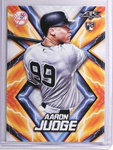 2017 Topps Fire Aaron Judge Rookie RC #62 *70357