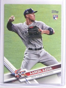 2017 Topps Update Aaron Judge Rookie RC #US166 *70360