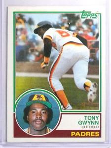 1983 Topps Tony Gwynn Rookie RC #482 NM *70454