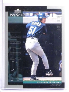 2001 Upper Deck MVP Ichiro Suzuki Rookie RC #60 *70542