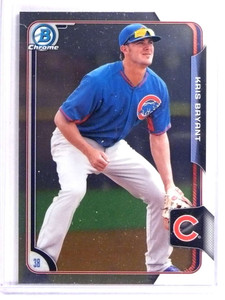 2015 Bowman Chrome Prospects Kris Bryant Rookie RC #BCP100 *70685