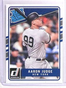 2017 Donruss Rated Rookies Aaron Judge Rookie RC #38 *70798