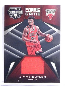 2016-17 Panini Totally Certified Fabric of the Game Jimmy Butler Jersey *70635