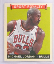 2008 Upper Deck Goudey Sport Royalty Mini Blue Michael Jordan #300 *70387