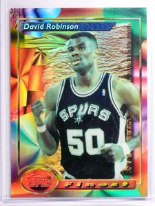1993-94 Topps Finest Refractor David Robinson #21 *70408