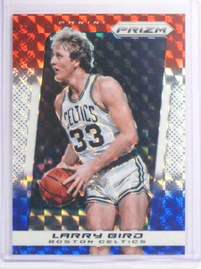 2013-14 Panini Prizm Prizms Red White & Blue Mosaic Larry Bird #232 *70652