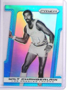 2013-14 Panini Prizm Light Blue Die Cut Wilt Chamberlain #D037/199 #257 *70659