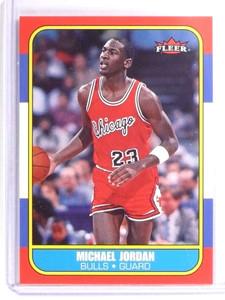 2006-07 Fleer 1986-87 20th Anniversary Michael Jordan #57 *70713