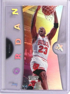 2006-07 Fleer E-X Michael Jordan #4 *70717