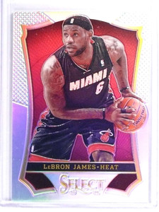 2013-14 Panini Select Prizms Refractor LeBron James #24 *70835