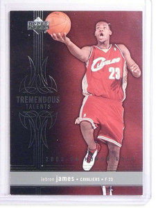 2003-04 Upper Deck Honor Roll Tremendous Talents LeBron James Rookie #TT7 *70255