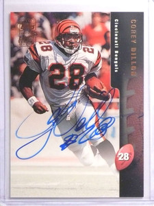 1998 Topps Autographs Corey Dillon Autograph auto #A4 *70559