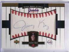 2003 UD Sweet Spot Classic Yankees Greats Jimmy Key Autograph #YGJKE *59700