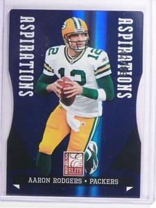 2011 Donruss Elite Aspirations Aaron Rodgers #D42/88 #36 *70723