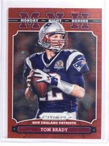 2013 Panini Prizm Monday Night Heroes Red Pulsar Tom Brady #22 *70754