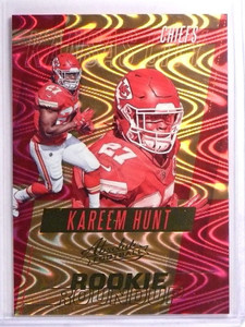 2017 Panini Absolute Rookie Roundup Kareem Hunt Rookie RC #36 *70416