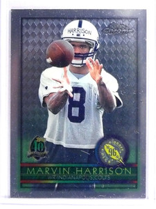 1996 Topps Chrome Marvin Harrison Rookie RC #156 *70679