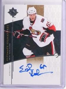 2009-10 Ultimate Collection Signatures Erik Karlsson Autograph #USKA *70661
