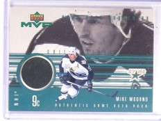 1998-99 Upper Deck MVP Game Souvenirs Mike Modano Puck #GUMM *70810