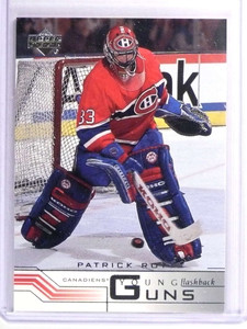 2001-02 Upper Deck Young Guns Flashback Patrick Roy #219 *70868