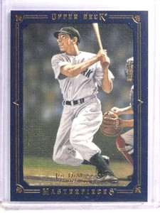 2008 UD Masterpieces Framed Blue Joe DiMaggio #D062/125 #108 *70885