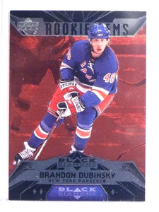 2007-08 Black Diamond Ruby Brandon Dubinsky Rookie RC #D087/100 #166 *70902