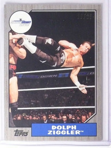 2017 Topps WWE Heritage Silver Dolph Ziggler #D23/25 #48 *70418
