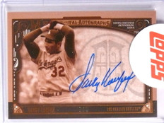 2016 Topps Museum Collection Archival Sepia Sandy Koufax autograph #D1/5 *70957